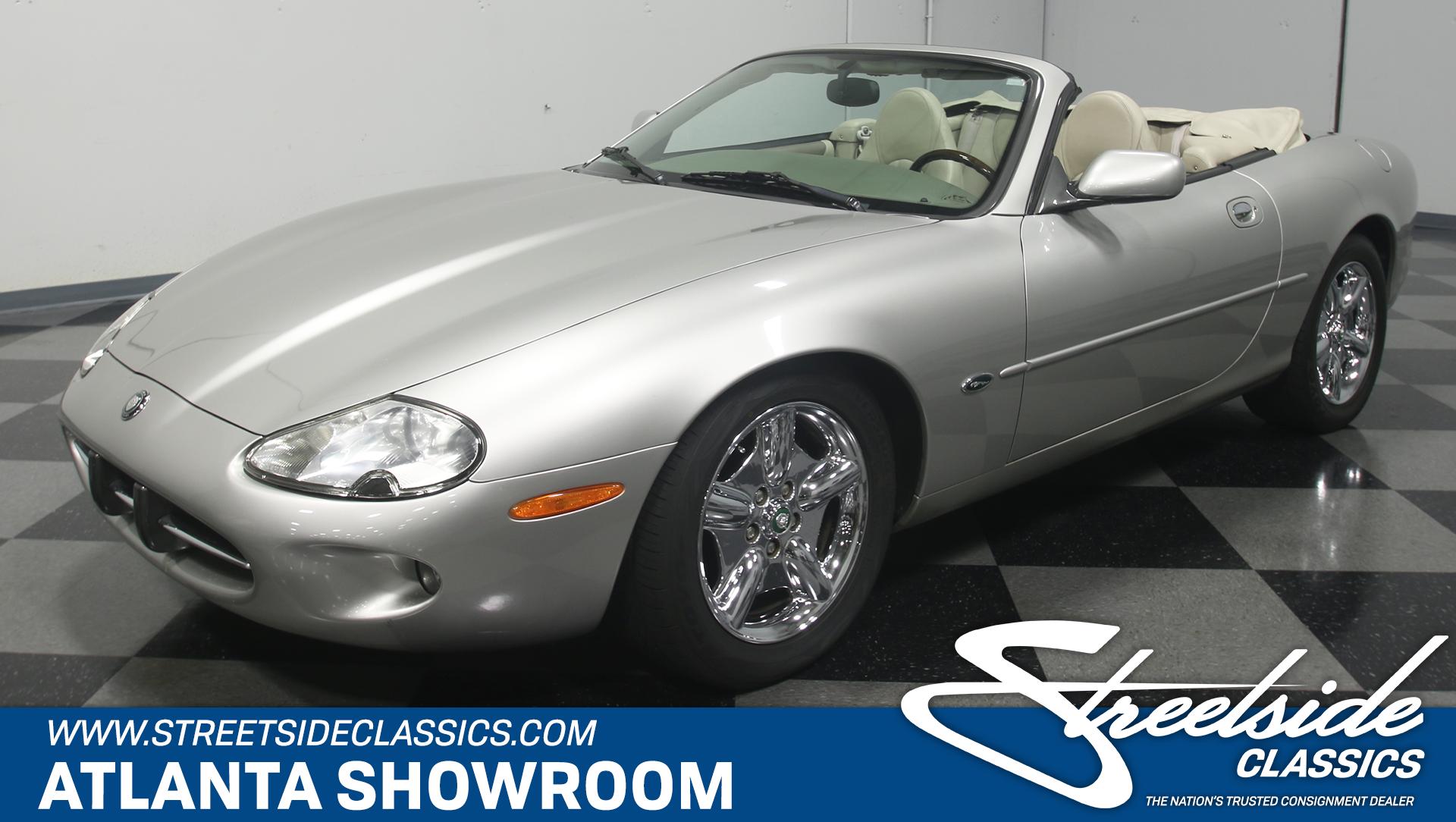 For Sale: 1999 Jaguar XK8. Spincar view. Play Video