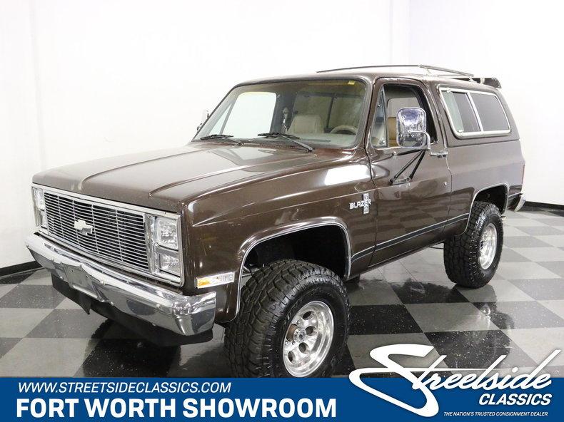 For Sale: 1987 Chevrolet Blazer