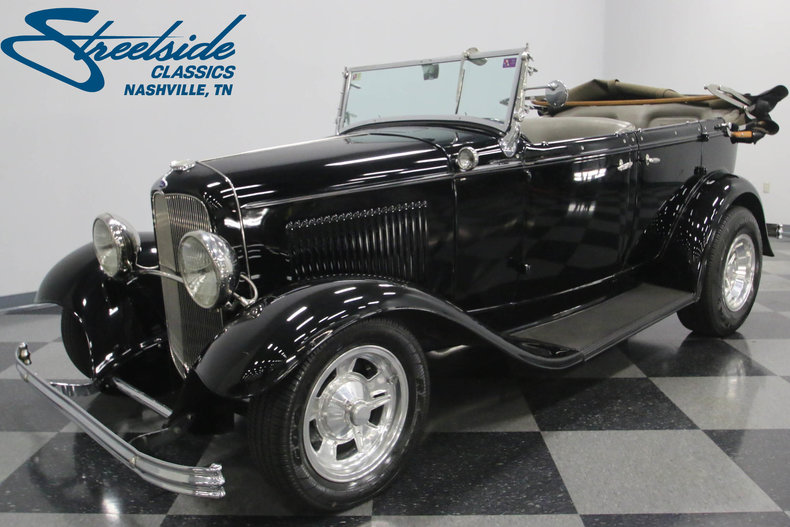 For Sale: 1932 Ford Phaeton