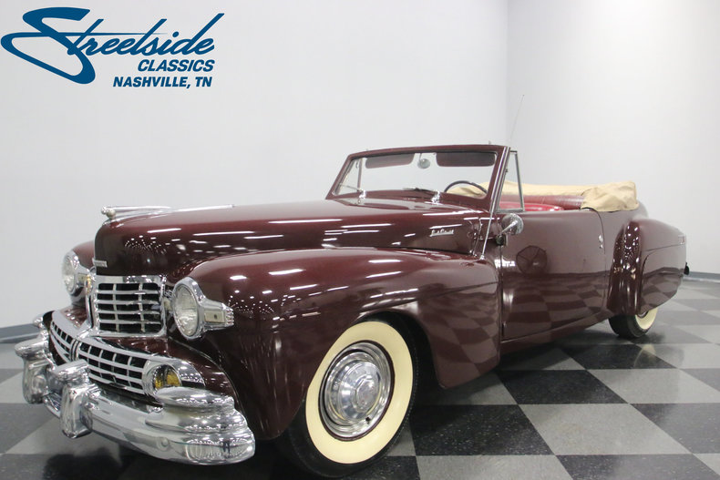 For Sale: 1946 Lincoln Continental