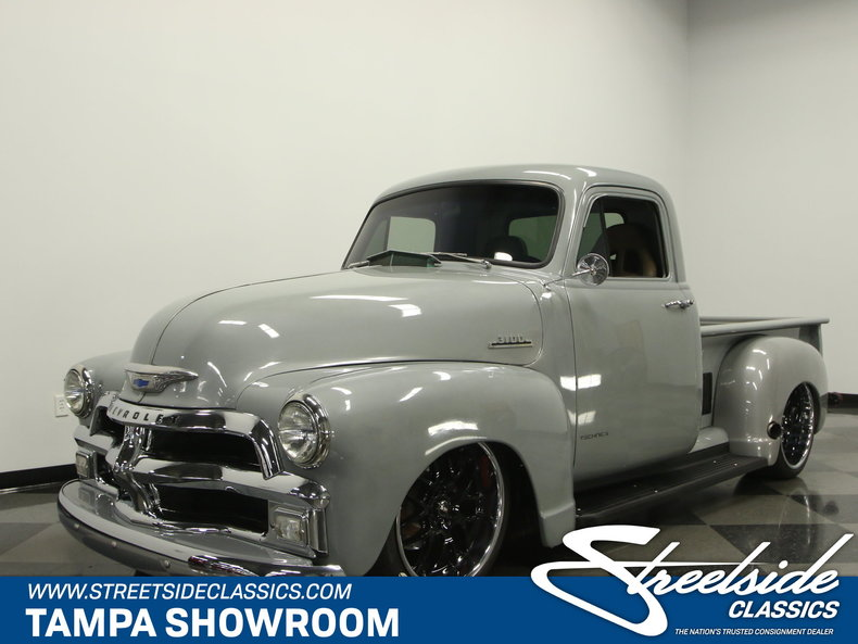 Chevy Truck Wheels >> 1954 Chevrolet 3100 | Streetside Classics - The Nation's Trusted Classic Car Consignment Dealer