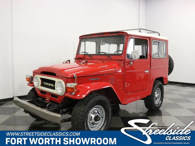 For Sale: 1977 Toyota FJ40