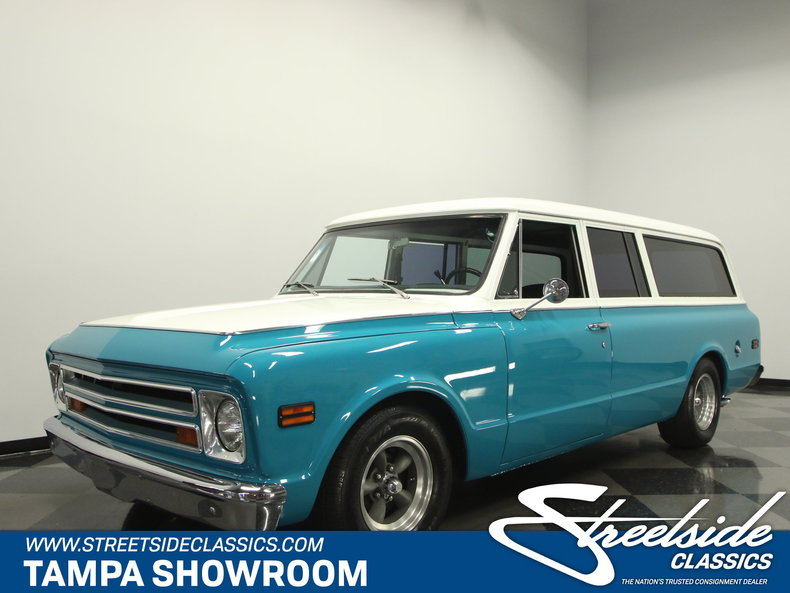 For Sale: 1968 Chevrolet Suburban