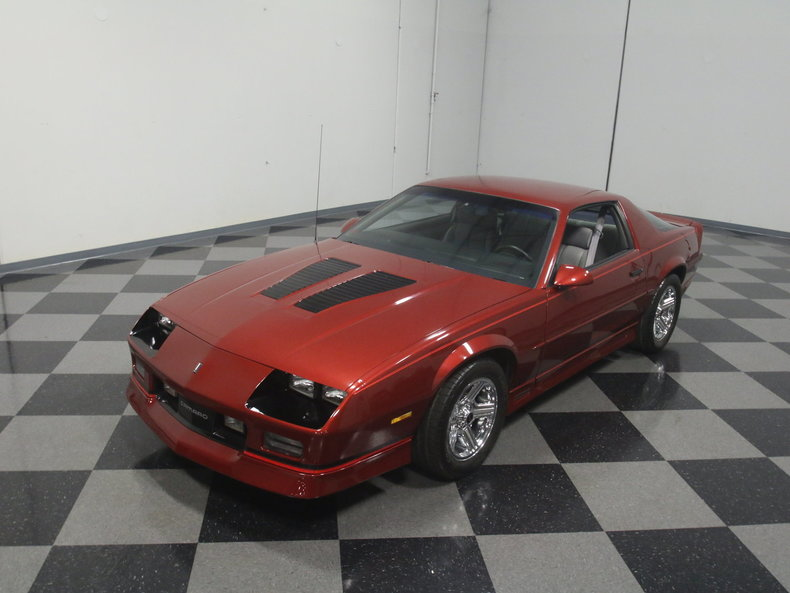 1989 chevrolet camaro iroc z 28 for sale 61729 mcg. Black Bedroom Furniture Sets. Home Design Ideas