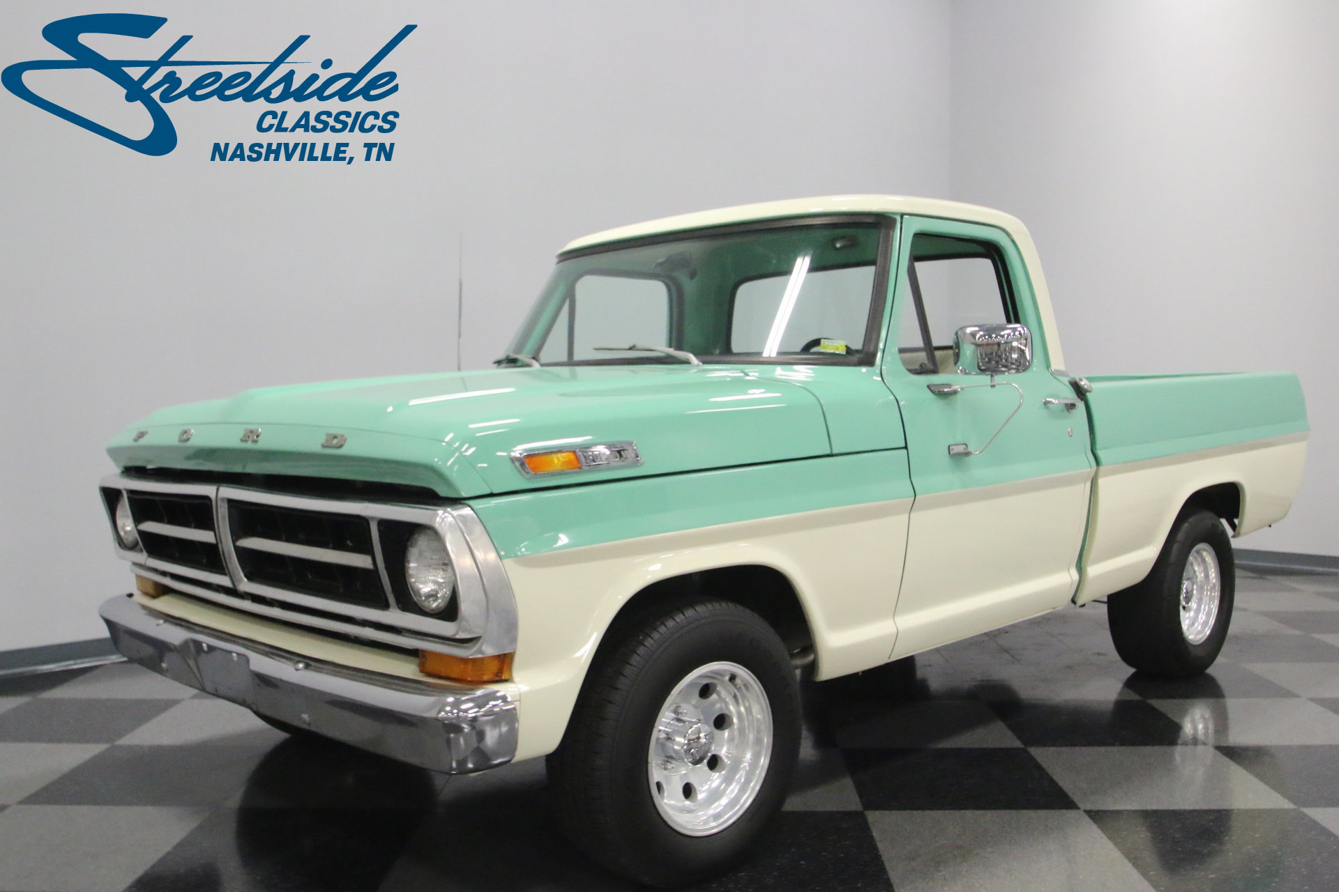 1970 Ford F 100 Streetside Classics The Nations Trusted Classic 1955 F100 Headliner View 360