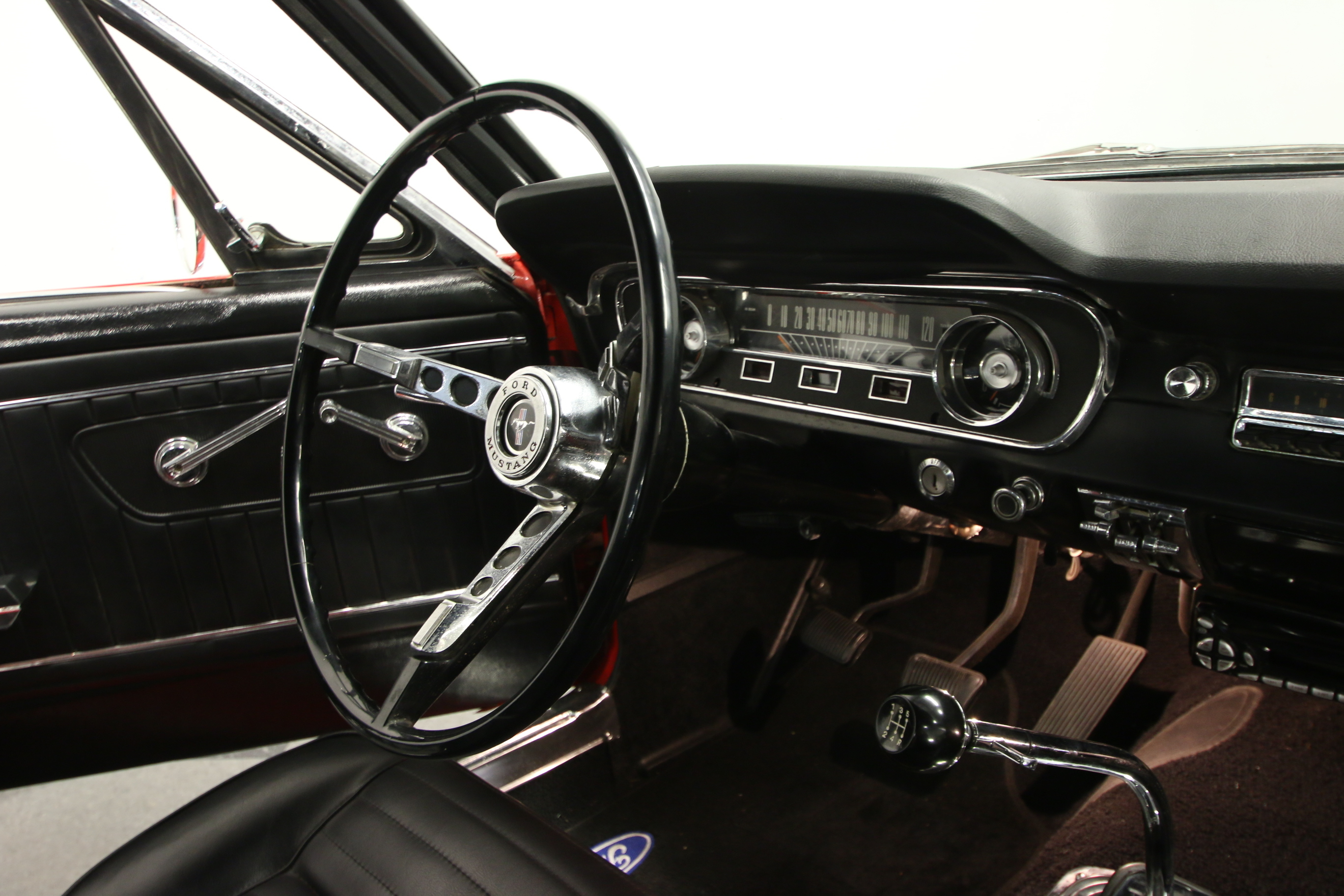 1965 Ford Mustang : RARE 65 C-CODE, RARE BENCH SEAT, 5 SPEED MANUAL, 289 V8, TASTEFUL SHELBY UPDATES