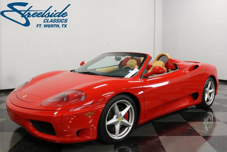 For Sale: 2002 Ferrari 360