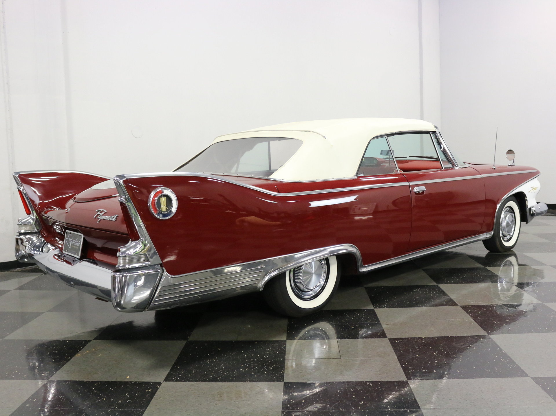 1960 Plymouth Fury Streetside Classics The Nations Trusted Convertible For Sale Spincar View 360