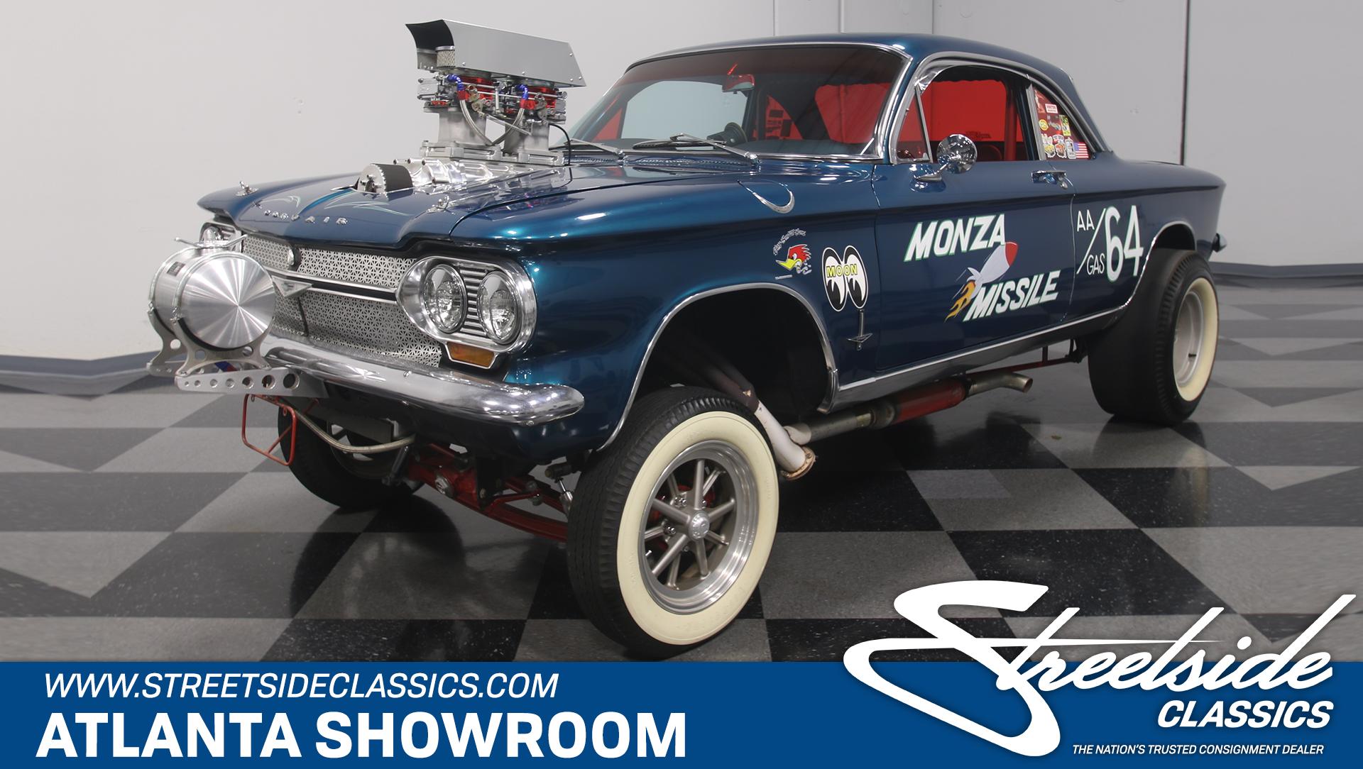1964 Chevrolet Corvair Monza Gasser for sale #63153   MCG