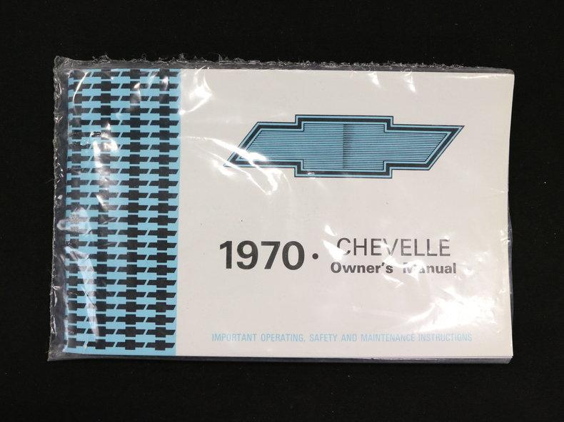 1970 1970 Chevrolet Chevelle For Sale