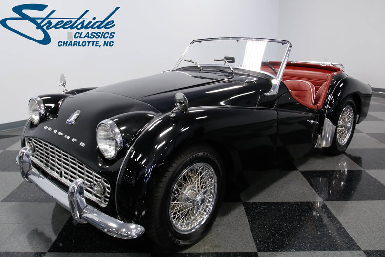 For Sale: 1961 Triumph TR3