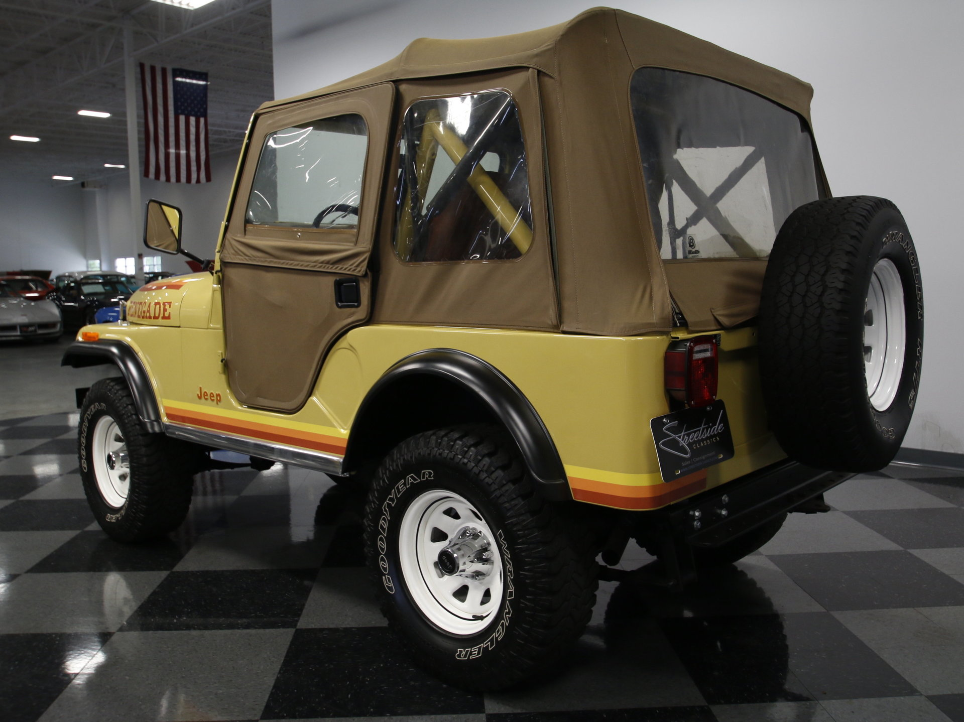 Jacked Up Jeep Renegade >> 1981 Jeep CJ5 | Streetside Classics - The Nation's Trusted Classic Car Consignment Dealer