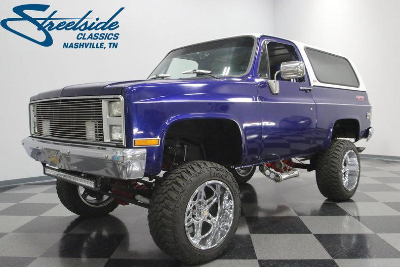 For Sale: 1986 Chevrolet K5