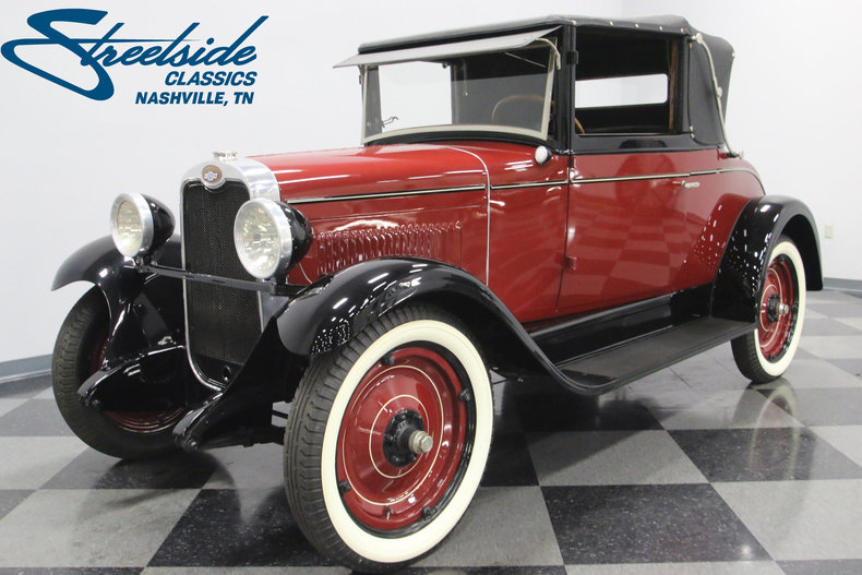 For Sale: 1928 Chevrolet Cabriolet