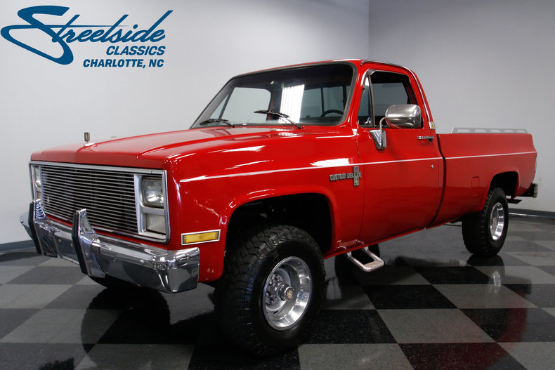 For Sale: 1985 Chevrolet K-10