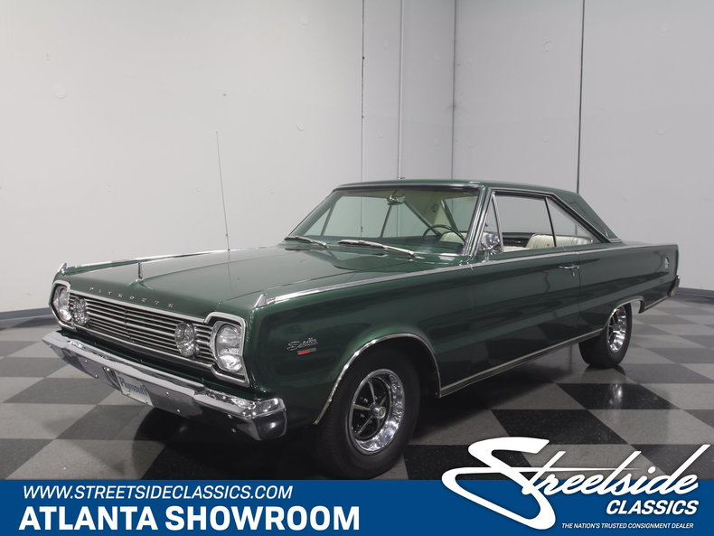 For Sale: 1966 Plymouth Satellite