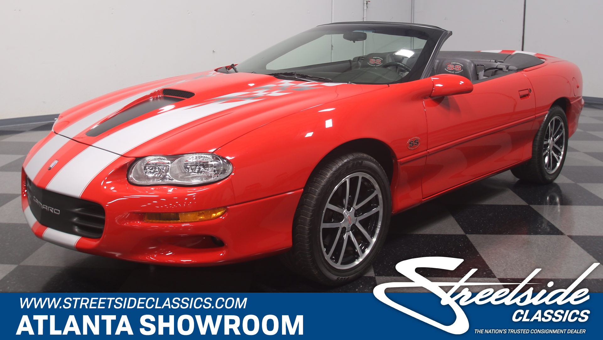 For Sale: 2002 Chevrolet Camaro. Spincar view. Play Video