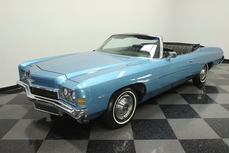 1972 chevrolet impala convertible for sale 74447 mcg. Black Bedroom Furniture Sets. Home Design Ideas