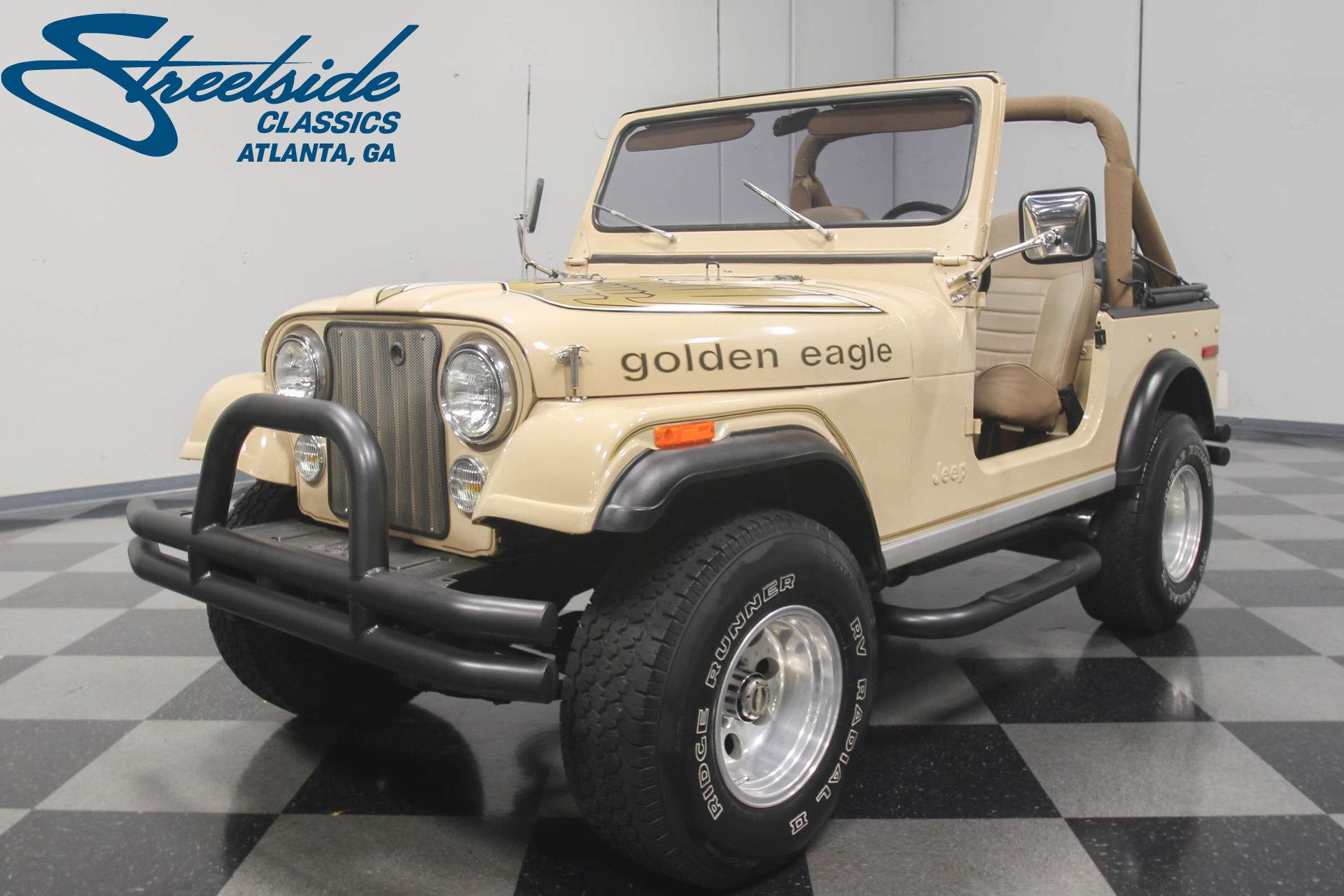 1978 jeep cj7 golden eagle for sale 65095 mcg. Black Bedroom Furniture Sets. Home Design Ideas
