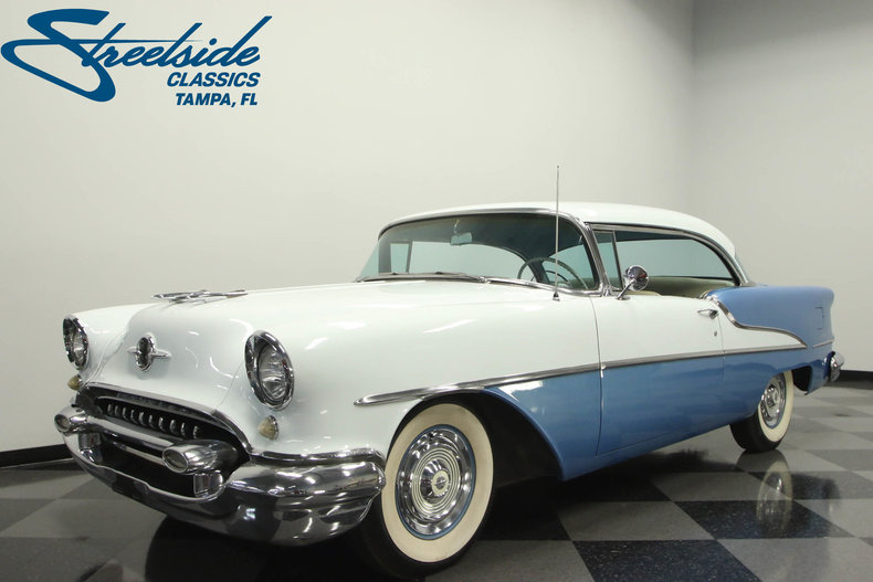 Auto Of Dallas >> 1955 Oldsmobile 88 | Streetside Classics - The Nation's Trusted Classic Car Consignment Dealer