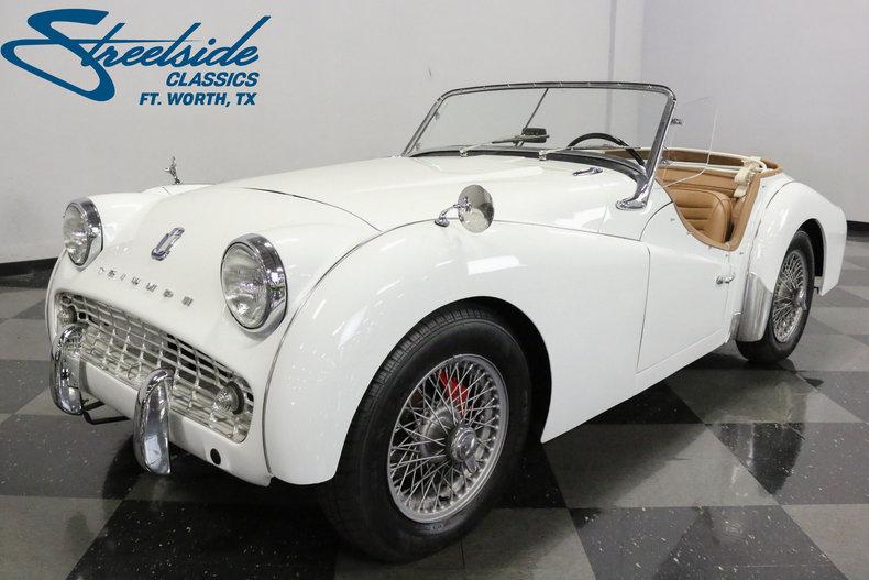 For Sale: 1963 Triumph TR3