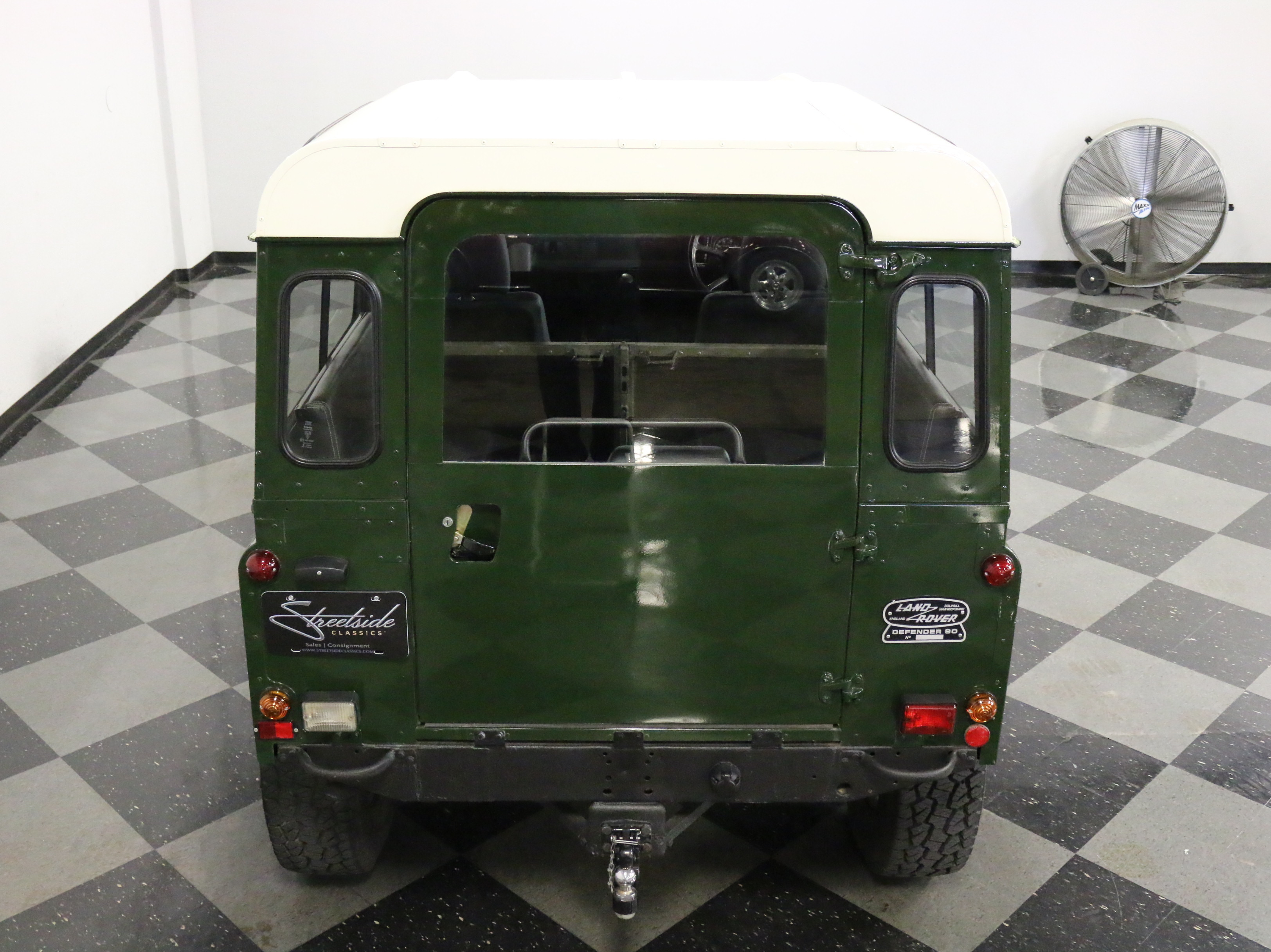 1984 Land Rover Defender 90: RIGHT HAND DRIVE, FRESHLY REBUILT 2.5L DIESEL, 5 SPD MANUAL, STRAIGHT & CLEAN!!!