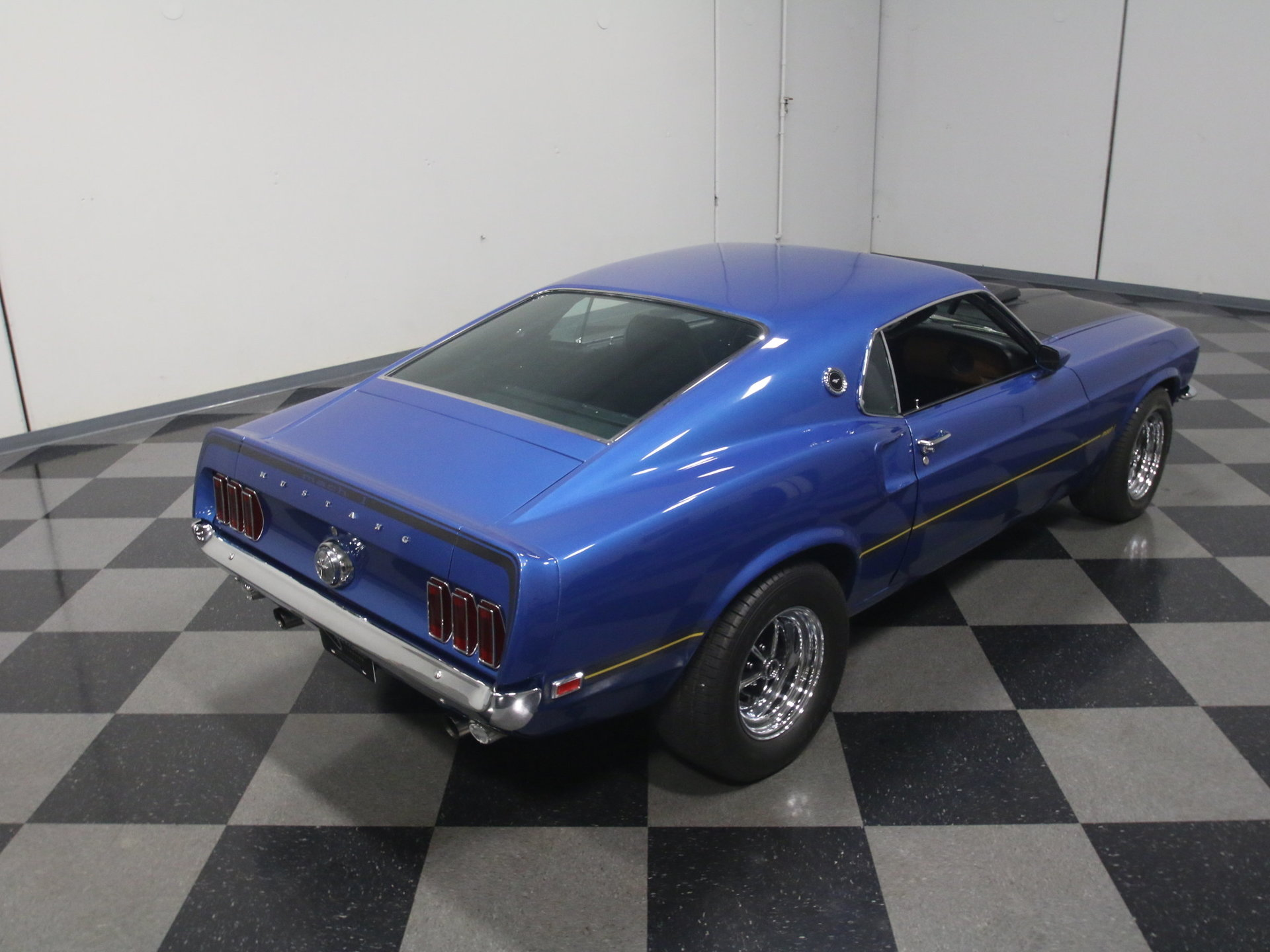 1969 Ford Mustang Streetside Classics The Nations Trusted Mach 1 Shaker Scoop Show More Photos