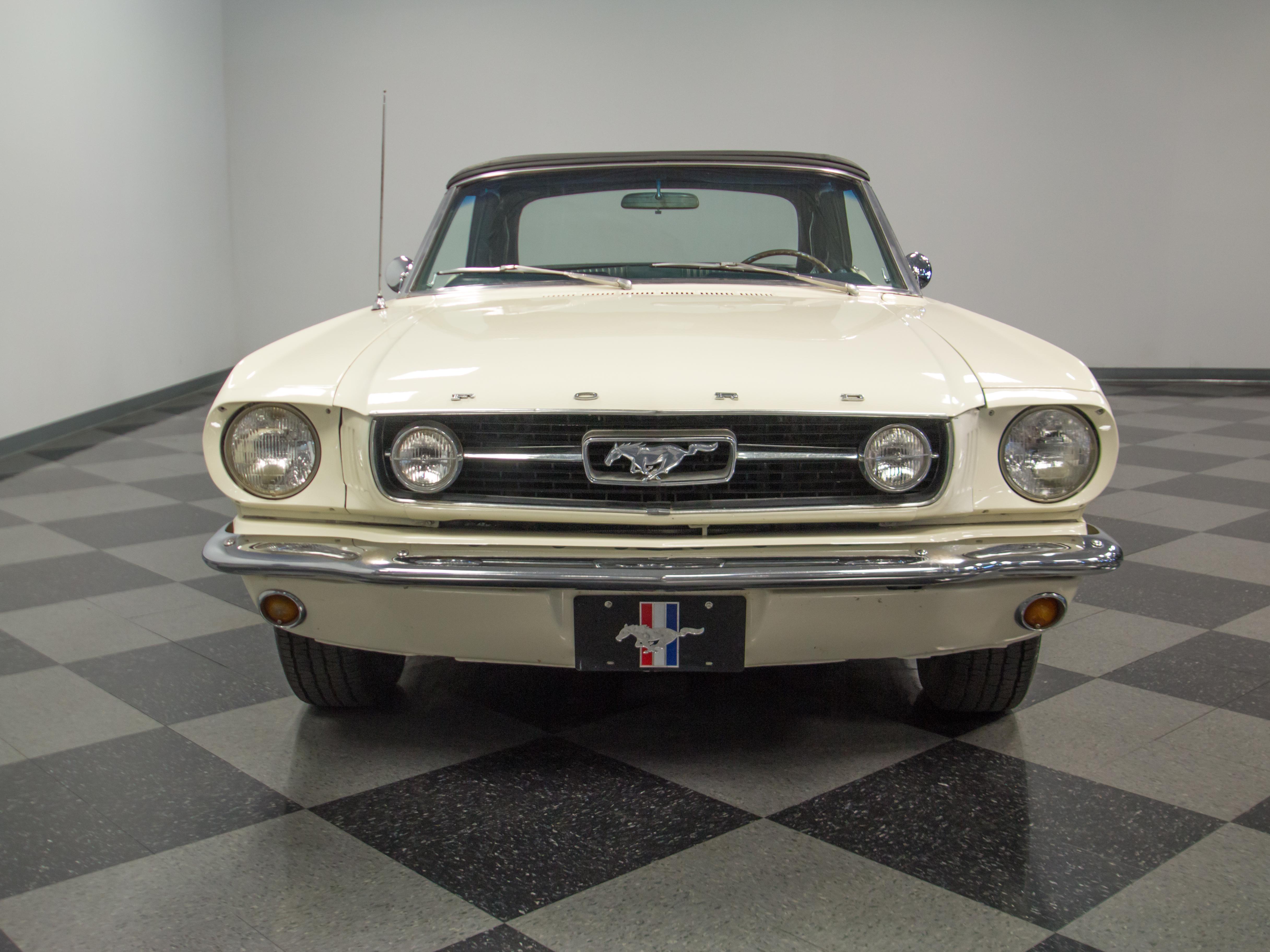 4298-CHA   1966 Ford Mustang Convertible   Streetside Classics