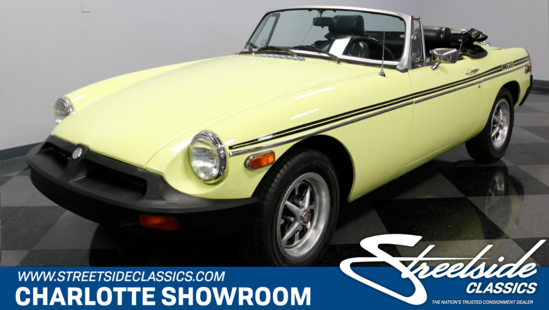 For Sale: 1976 MG MGB
