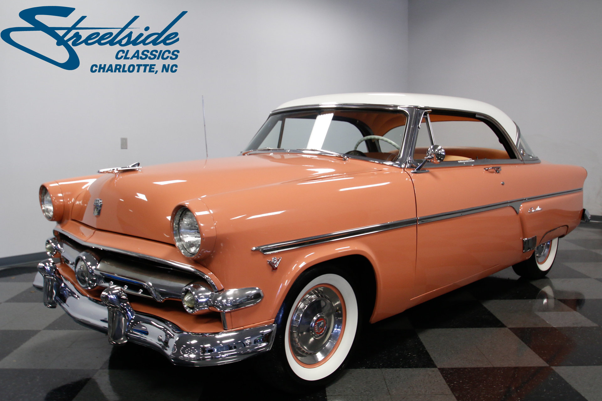 1954 Ford Crestline Victoria Streetside Classics The Nations Cars For Sale Show More Photos