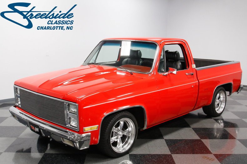 1982 chevrolet c10 streetside classics the nation 39 s trusted classic car consignment dealer. Black Bedroom Furniture Sets. Home Design Ideas
