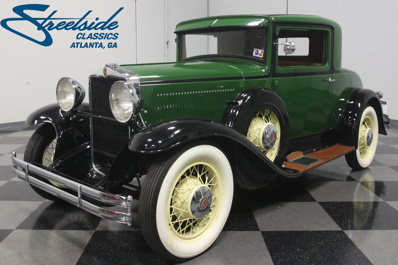 Dallas Auto Show >> 1931 Hupmobile Coupe | Streetside Classics - The Nation's Trusted Classic Car Consignment Dealer