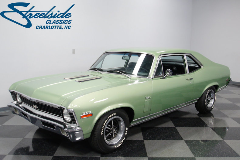 1970 chevrolet nova streetside classics the nation 39 s trusted classic car consignment dealer. Black Bedroom Furniture Sets. Home Design Ideas