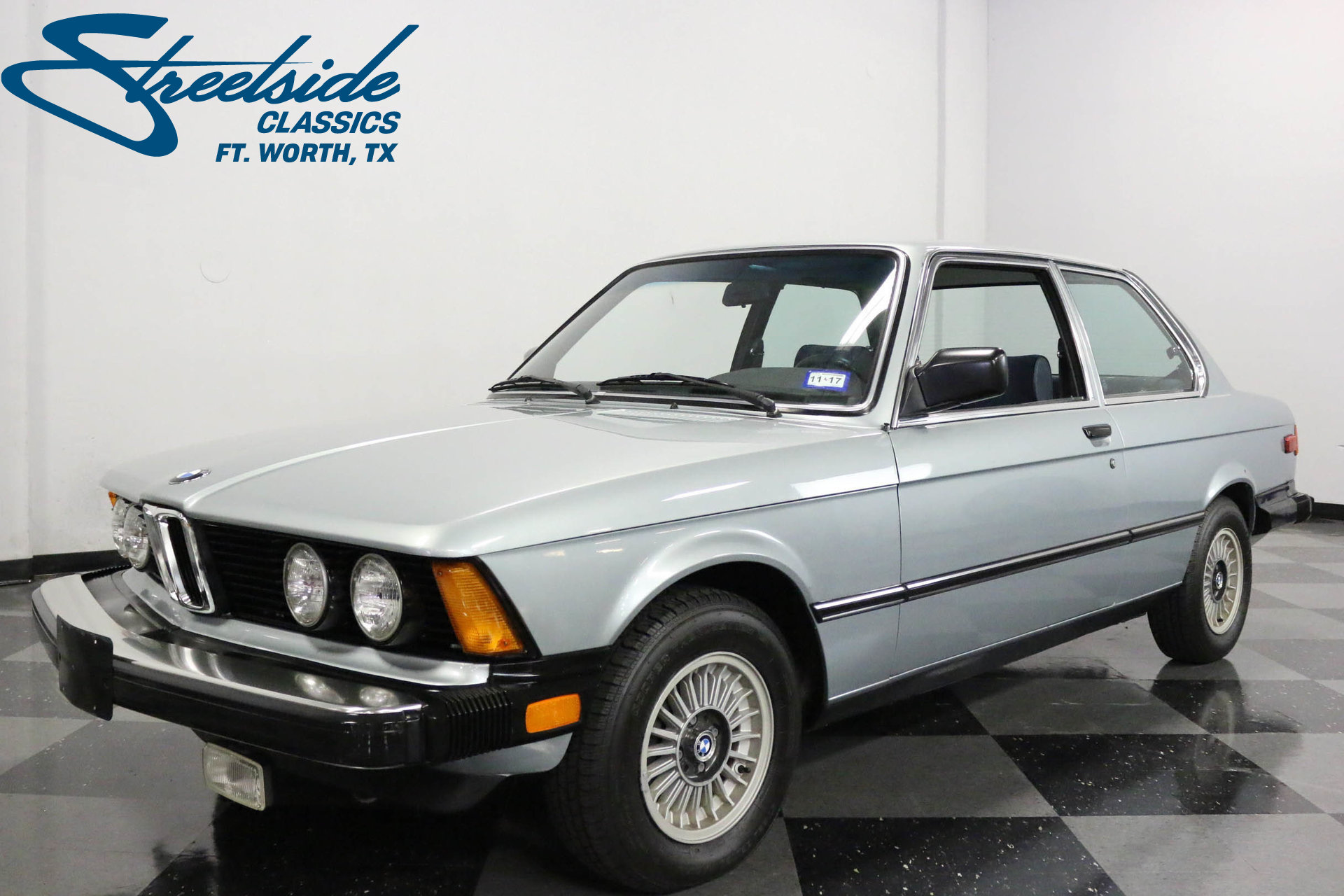 1983 bmw 320i streetside classics the nation 39 s trusted classic car consignment dealer. Black Bedroom Furniture Sets. Home Design Ideas