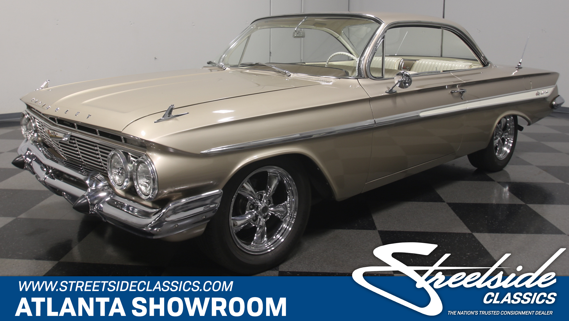 1961 Chevrolet Impala Bubble Top For Sale 67562 Mcg Chevy Ss