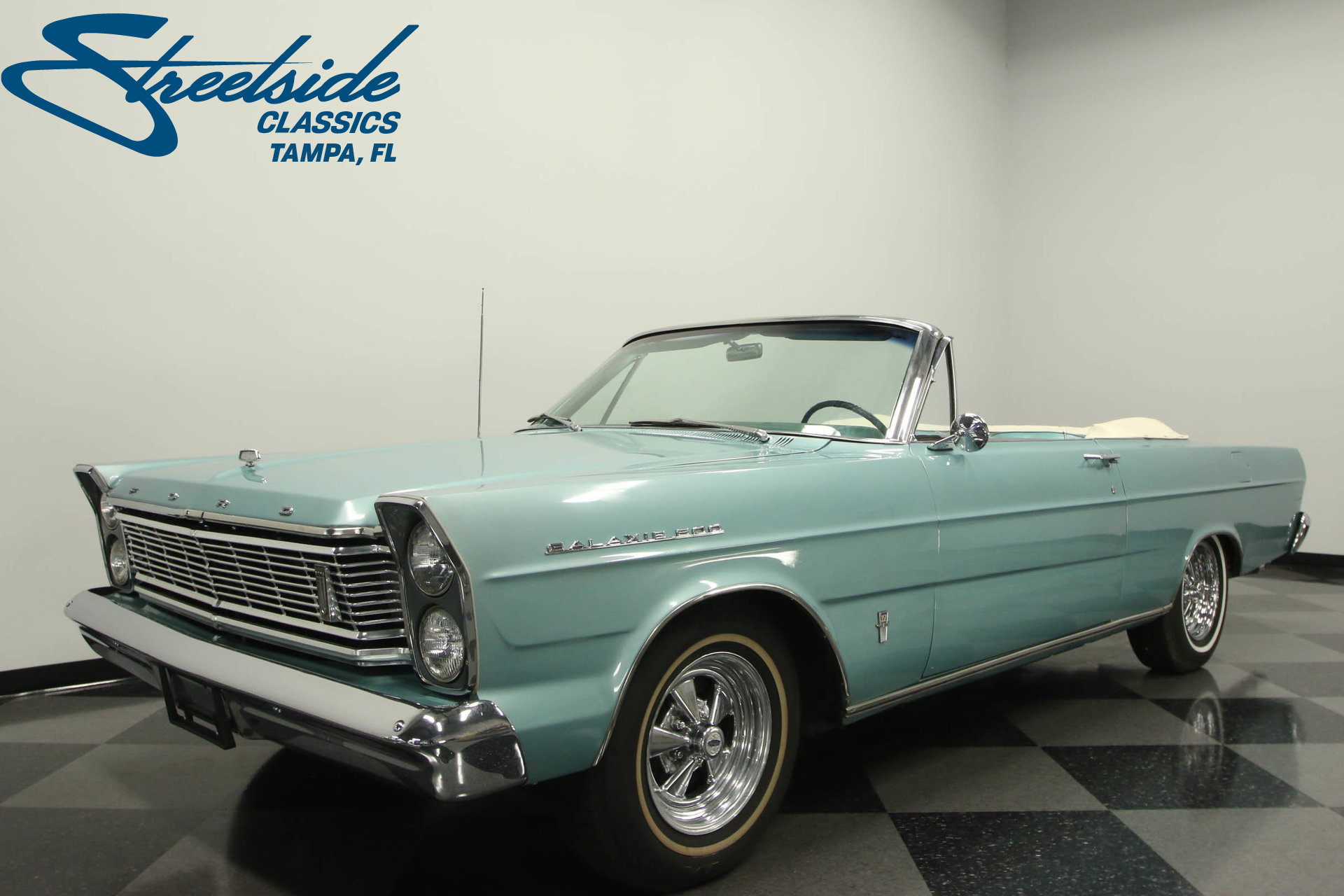 For Sale: 1965 Ford Galaxie. Spincar view. Play Video