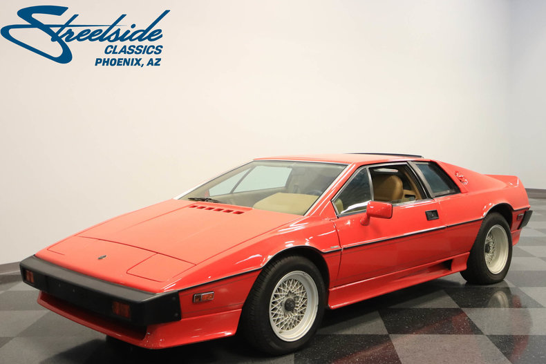 For Sale: 1987 Lotus Esprit