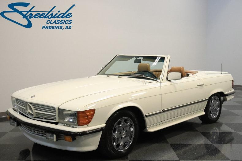 For Sale: 1985 Mercedes-Benz 500SL