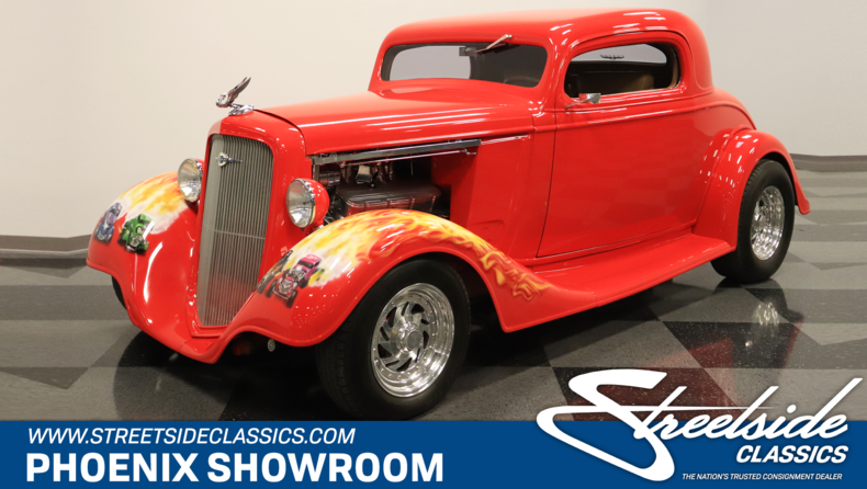 For Sale: 1935 Chevrolet 3 Window Coupe