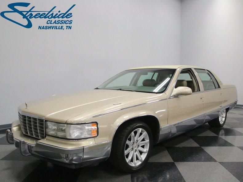 1996 Cadillac Fleetwood Restomod