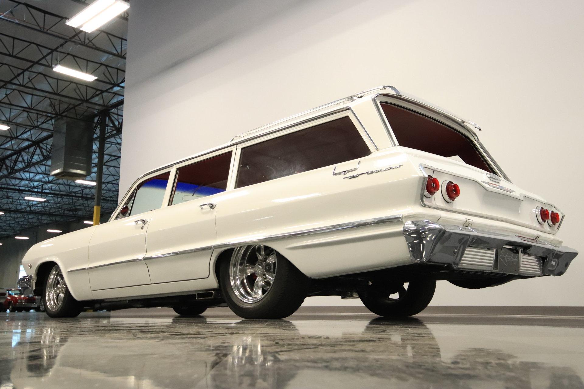 1963 Chevrolet Bel Air Restomod Wagon For Sale  68468