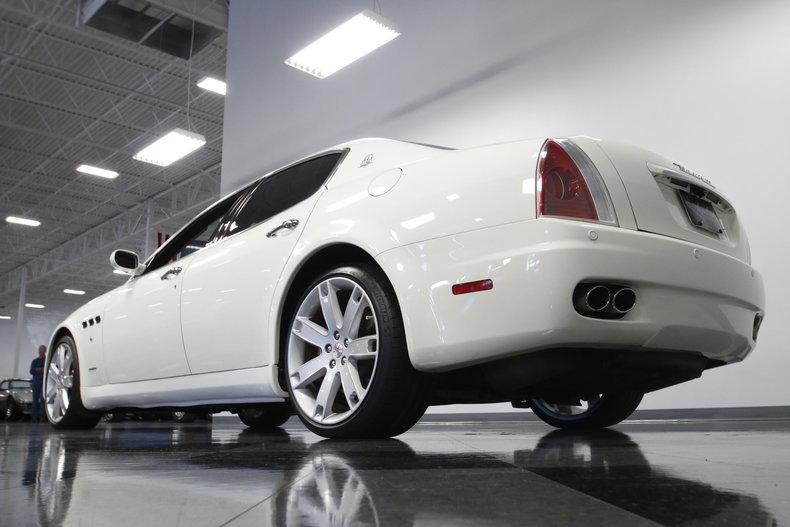 2007 Maserati Quattroporte Sport GT #13