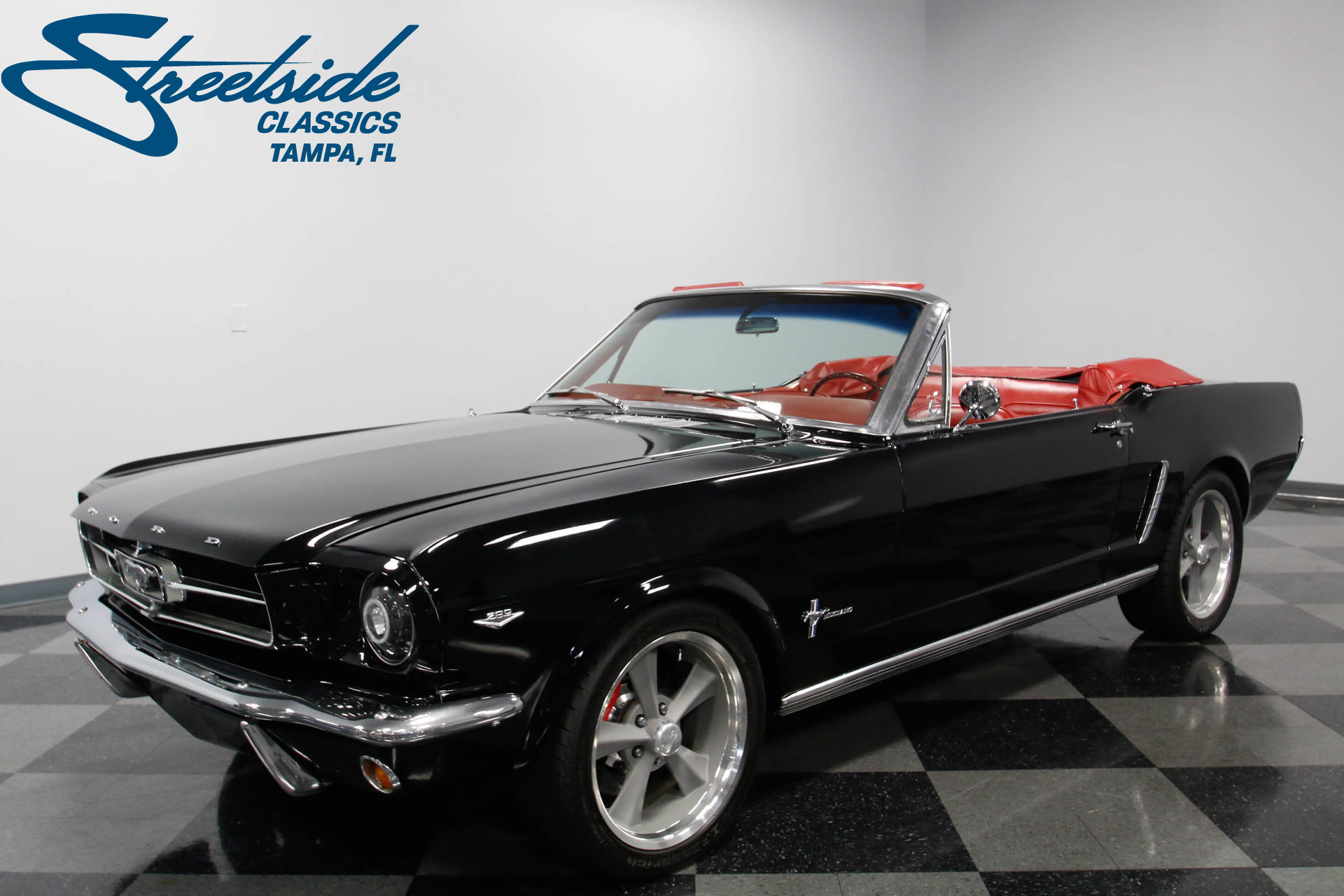 1965 ford mustang restomod convertible for sale 71393 mcg. Black Bedroom Furniture Sets. Home Design Ideas