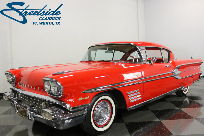 For Sale: 1958 Pontiac Bonneville