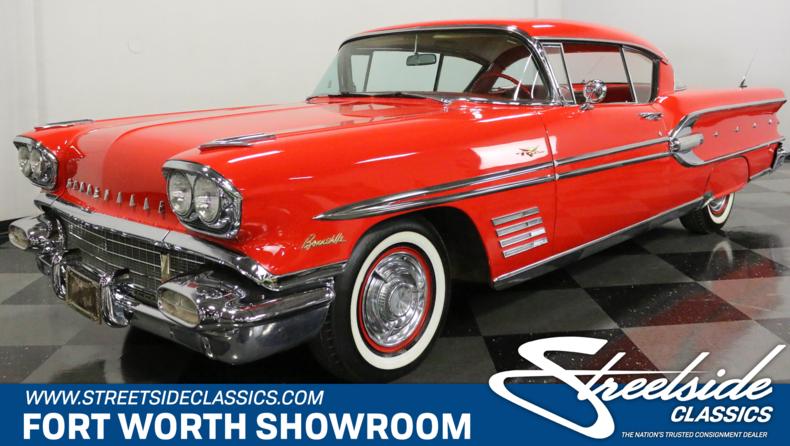 For Sale: 1958 Pontiac Bonneville