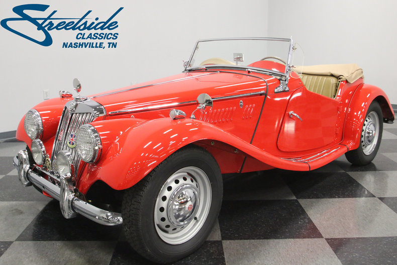 For Sale: 1954 MG TF