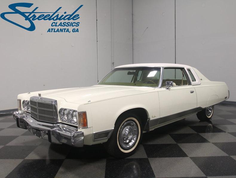 For Sale: 1975 Chrysler New Yorker Brougham