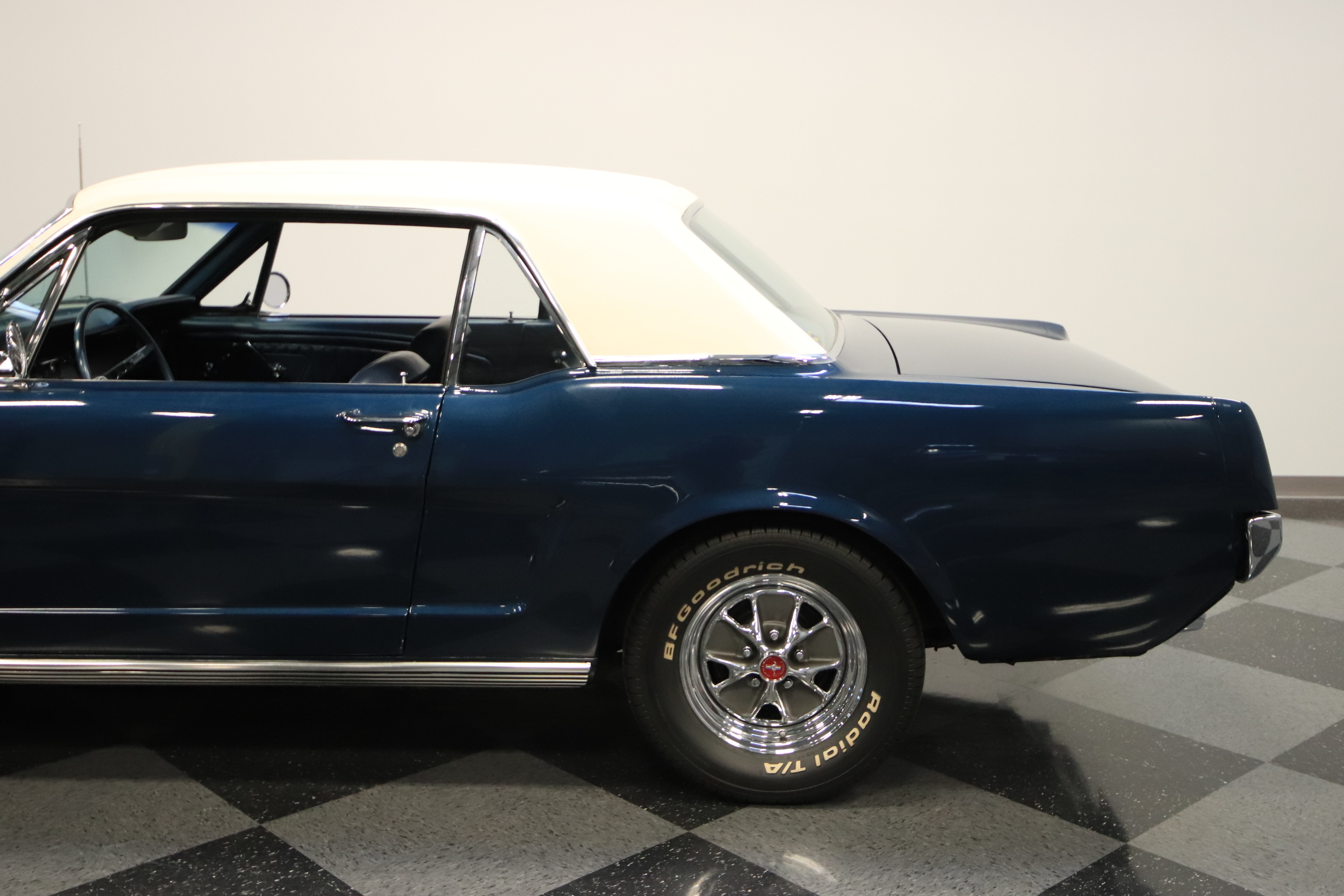1965 Ford Mustang K-Code: #'S MATCH K-CODE 289, CORRECT COLORS, WELL-RESTORED CAR, VERY RARE, SLICK PAINT!