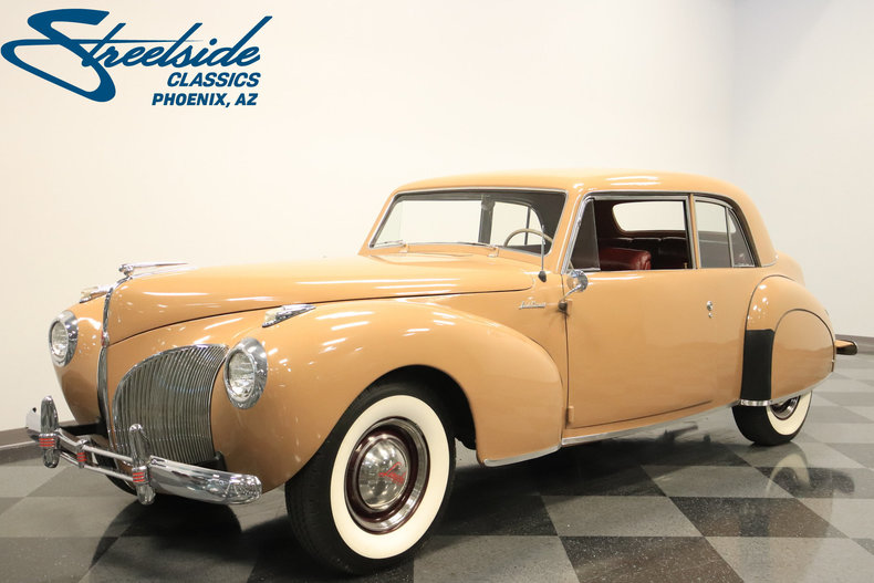 For Sale: 1941 Lincoln Continental