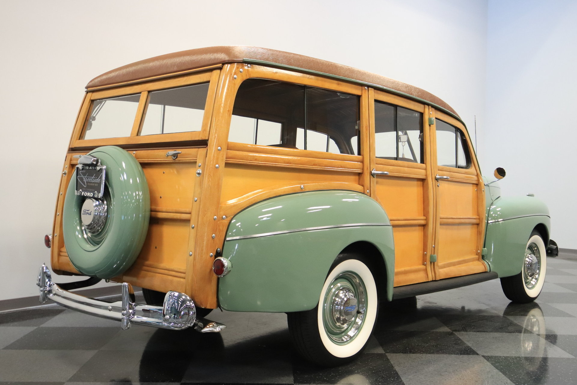1941 Ford Super Deluxe Streetside Classics The Nations Trusted Mercury 4 Door Sedan View 360